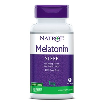 Melatonin Time Release 90 tableta Natrol