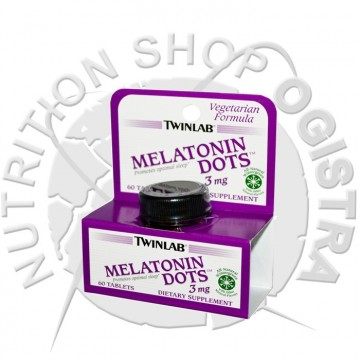 Melatonine dots Twinlab 60 tableta