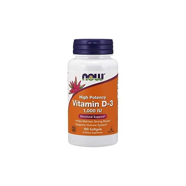 Vitamin D-3 180 softgel kapsula NOW FOODS