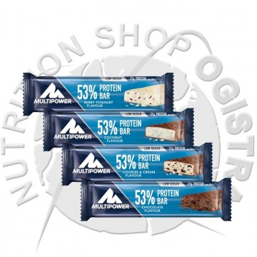53 % Protein Bar Multipower