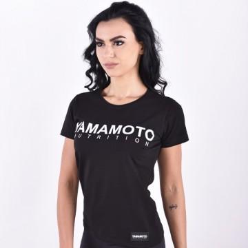 """Yamamoto WOMEN """"Luxury"""" T-Shirt - BLACK"""