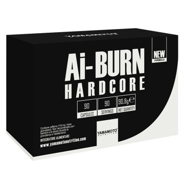 Ai-BURN® HARDCORE 90 kap Yamamoto Nutrition/ Sagorevac masti