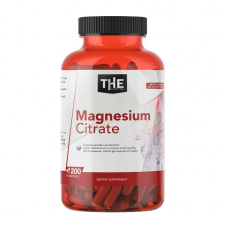 Magnezijum Citrat 200 Kapsula - THE NUTRITION