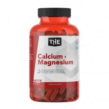 KALCIJUM I MAGNEZIJUM 200 Kapsula - THE NUTRITION