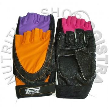 Ženske čipkane fitness rukavice