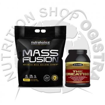 MASS FUSION 7.3 kg+ THE KREATIN 1000 grama(na ovaj paket nema dodatnog popusta)