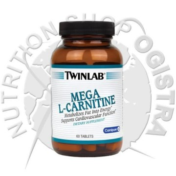 Twin Lab Mega L-carnitin 60 tableta