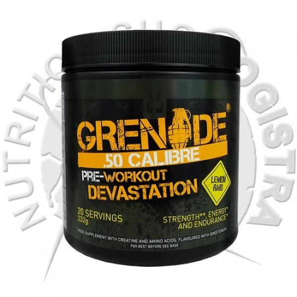 Grenade .50 Calibre AMMObox cola 580grama