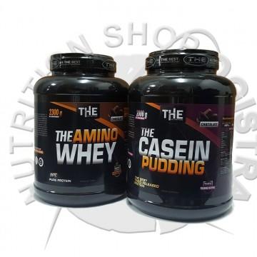 THE Amino hydro whey 2,3 kg+The Caseine 2kg(na ovaj paket nema dodatnog popusta)