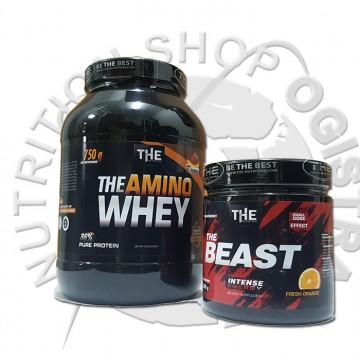 The amino whey 750 g+The Beast 300 g(na ovaj paket nema dodatnog popusta)