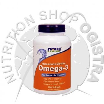 Now Omega 3 1000 mg 200 kapsula